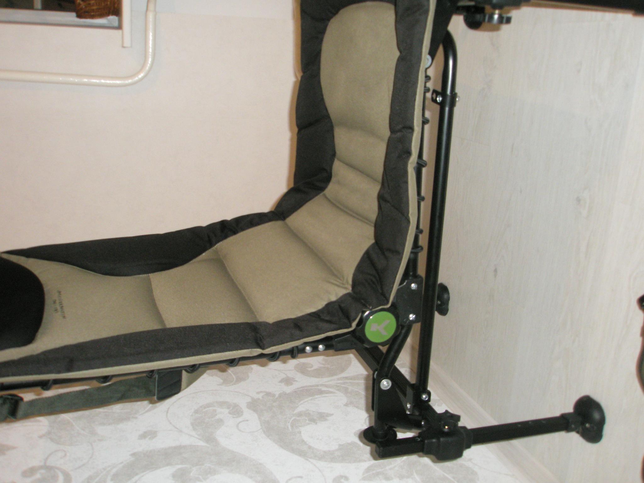 Фидерное кресло Большое Korum (Корум) - x25 Accessory Chair Deluxe