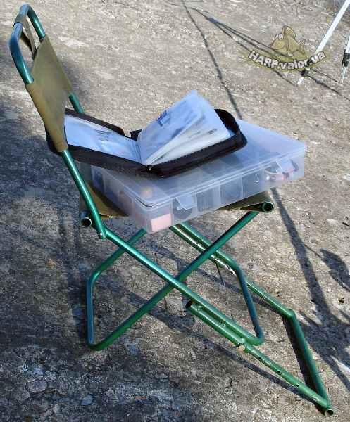 Самодельное кресло для рыбалки